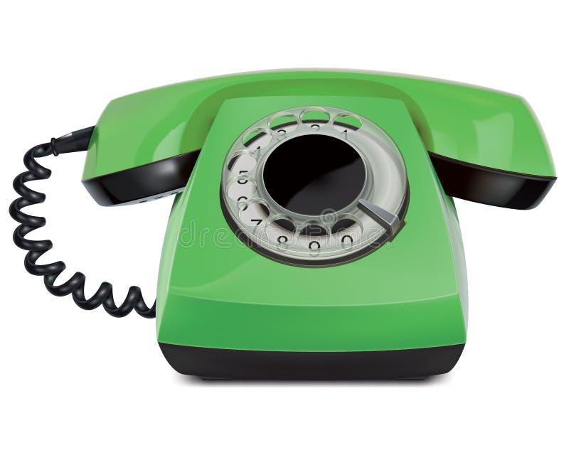Telephone vintage, isolated. Vector Illustration royalty free illustration