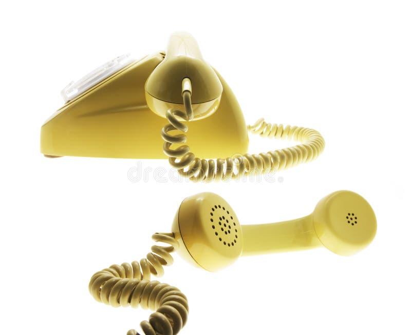 Telephones. On Isolated White Background royalty free stock photos