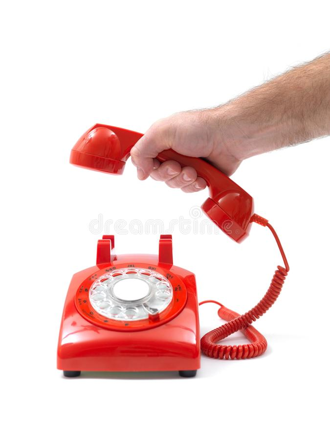 Telephones stock images