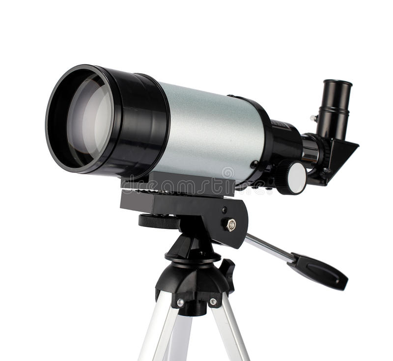 telescópio foto de stock royalty free