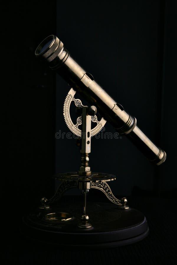 Telescópio fotografia de stock