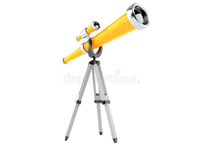 telescópio ilustração do vetor