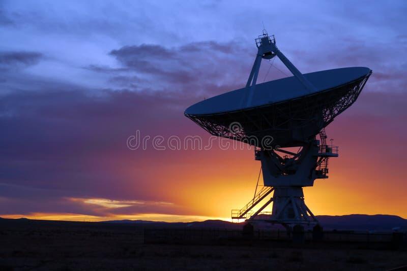 Telescópio de rádio fotografia de stock royalty free