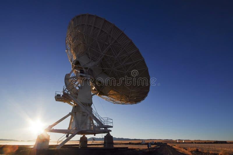 Download Telescópio de rádio de VLA foto de stock. Imagem de wireless - 26524738
