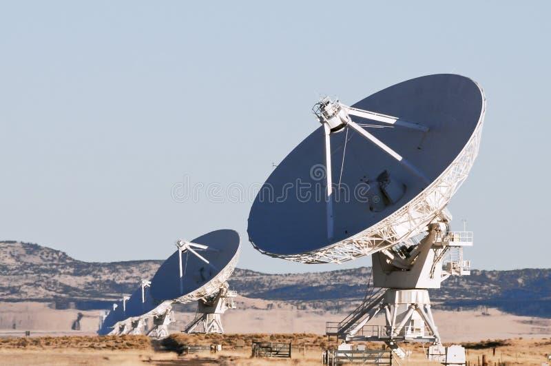 Download Telescópio de rádio de VLA foto de stock. Imagem de rádio - 26524794