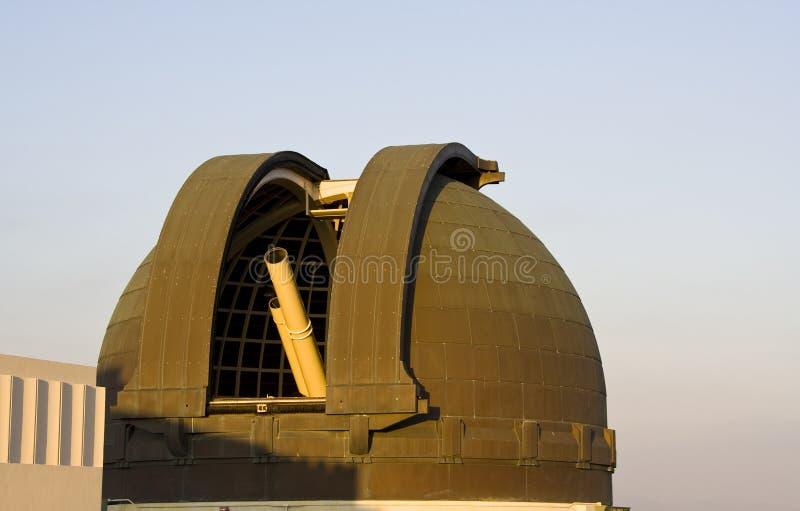 Telescópio do obervatório de Griffth foto de stock