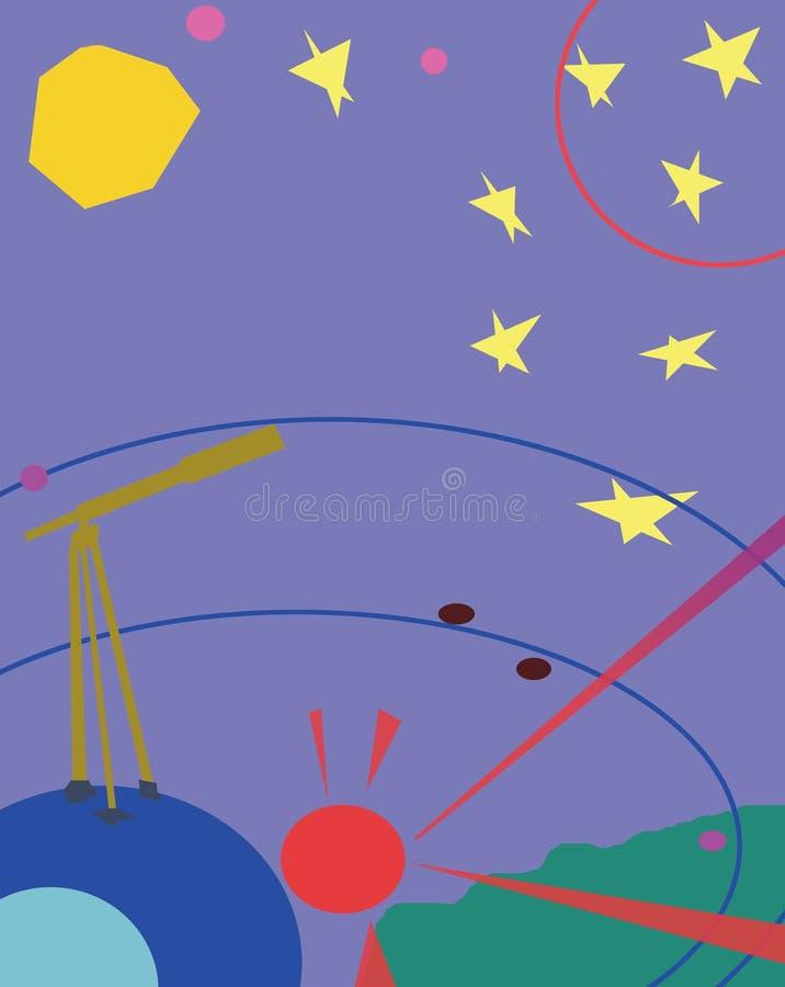 Free Telescope And Stars Royalty Free Stock Photo - 4453775