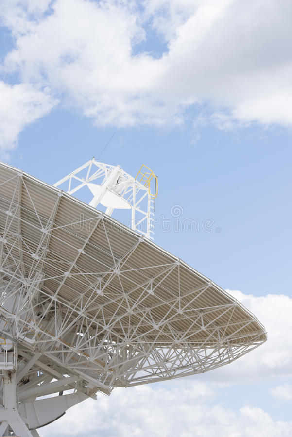 Telescope antenna dish for astronomy science royalty free stock photo