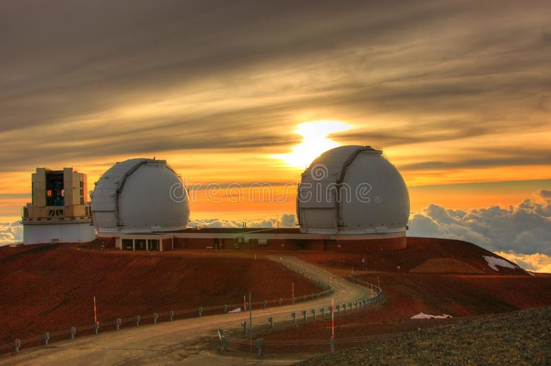 Telescopes stock images