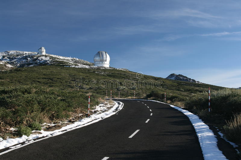 Telescopes royalty free stock photos