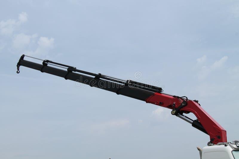 Hydraulic Crane. royalty free stock photography