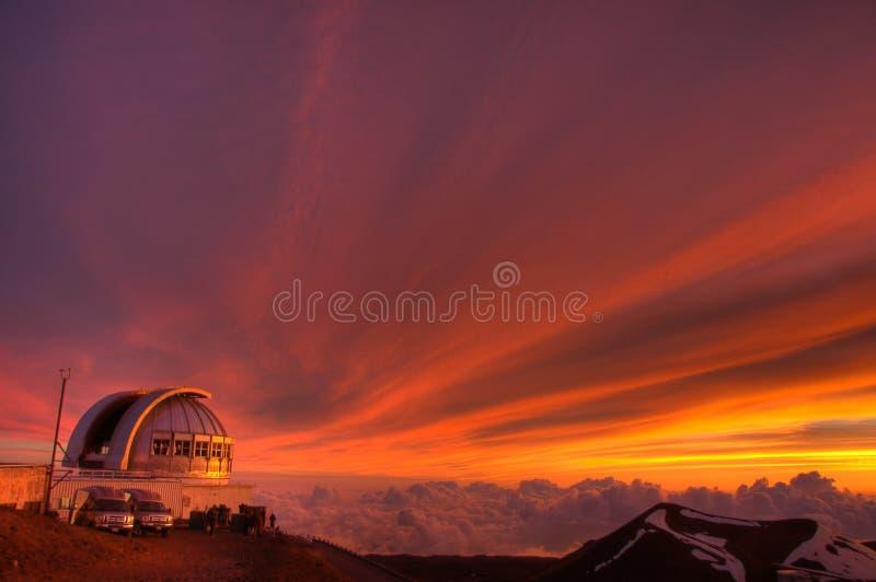 Telescopio foto de archivo