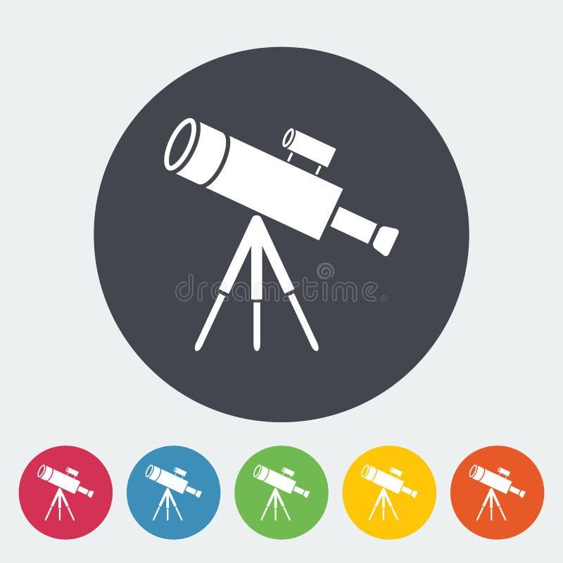 telescopio stock de ilustración