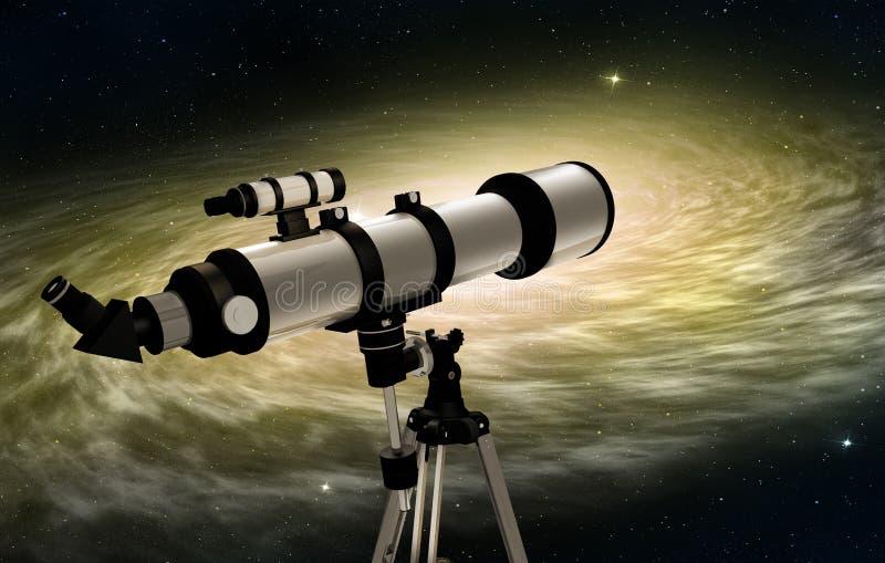 Telescopio astronómico libre illustration