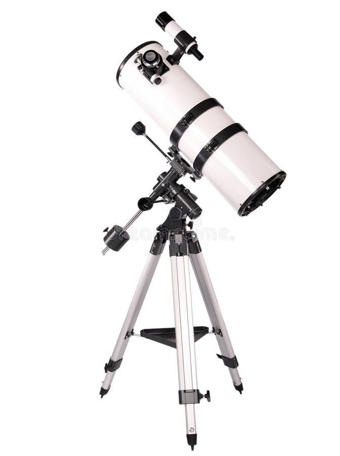 Telescopio de Dobsonian fotografía de archivo