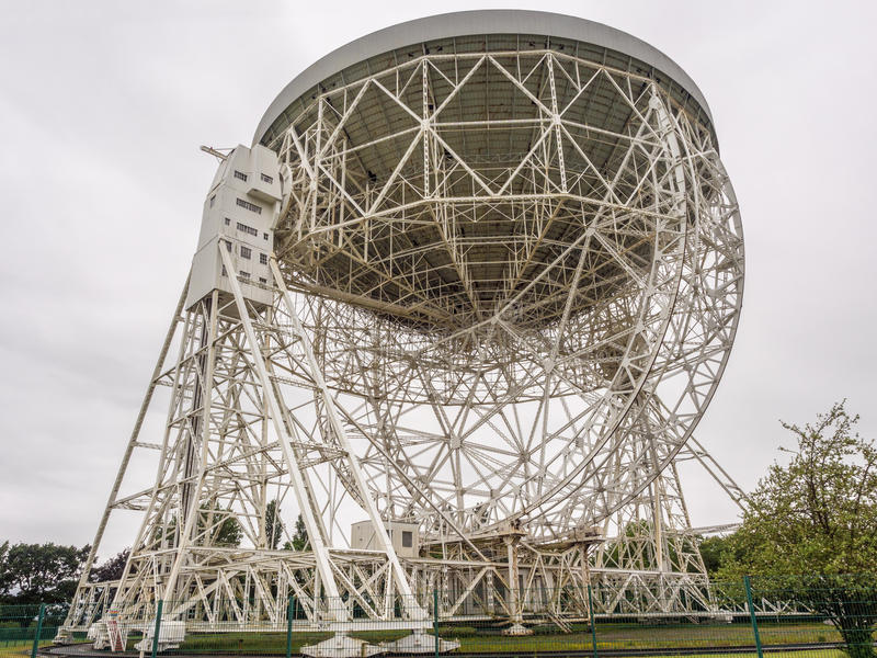 Telescopio de Lovell imagen de archivo libre de regalías