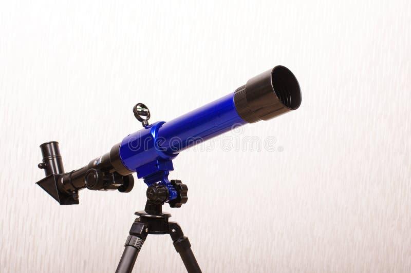 Telescopio del giocattolo per l'inseguimento della stella immagine stock libera da diritti