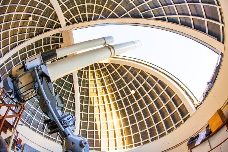 Telescopio famoso di Zeiss a immagini stock