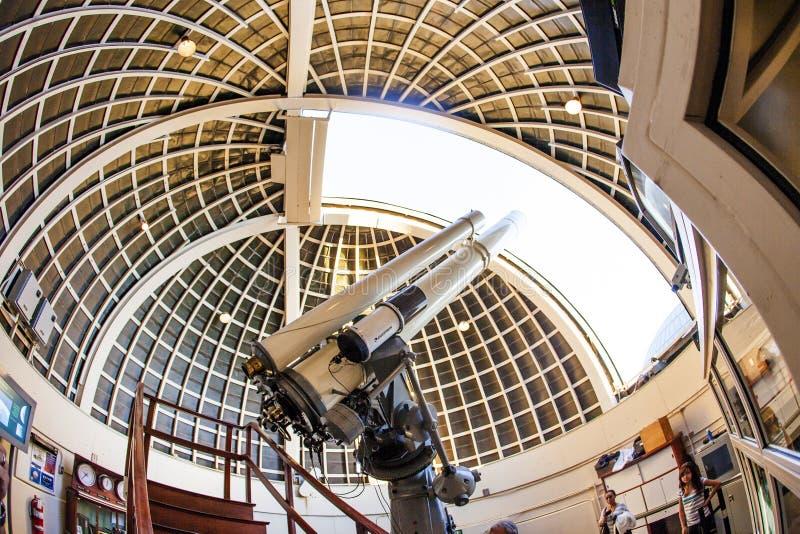 Telescopio famoso di Zeiss a fotografie stock