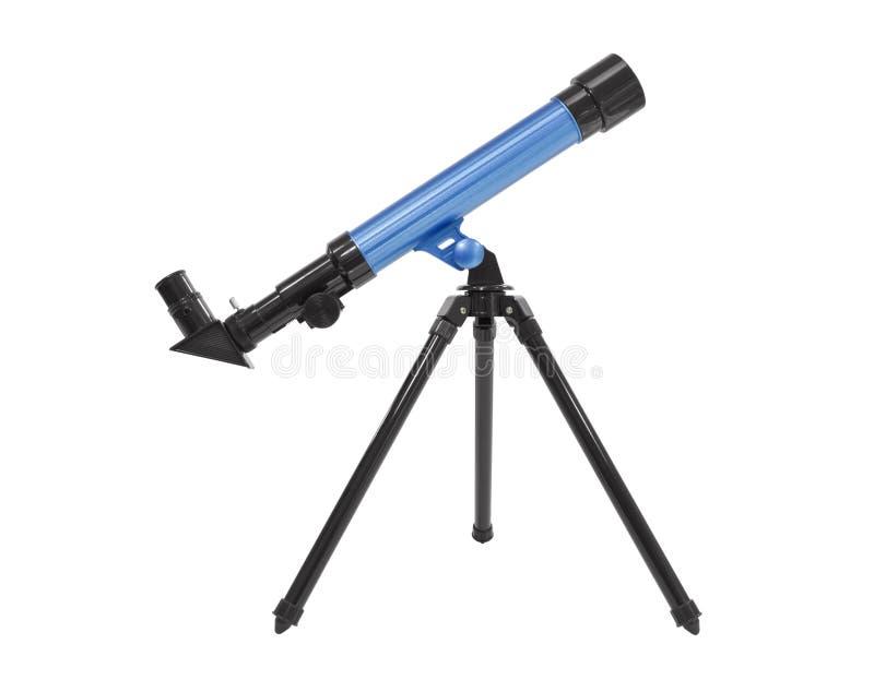 Telescopio isolato immagine stock