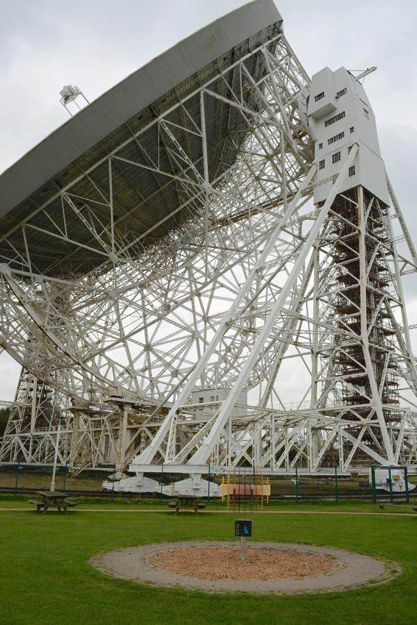 Telescopio radiofonico di Lovell immagini stock
