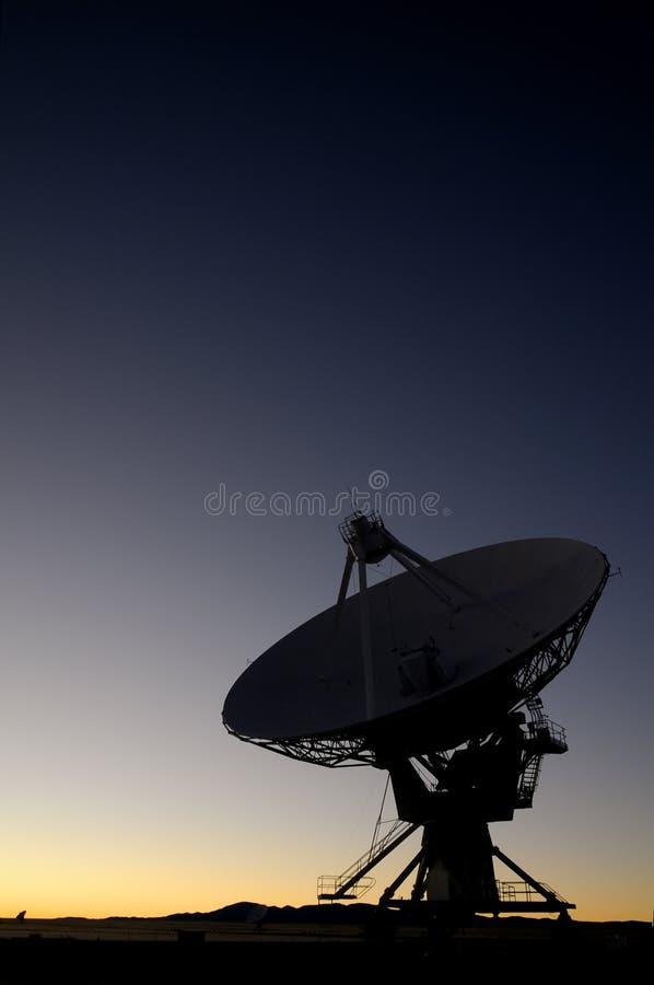 Telescopio radiofonico di VLA fotografia stock libera da diritti