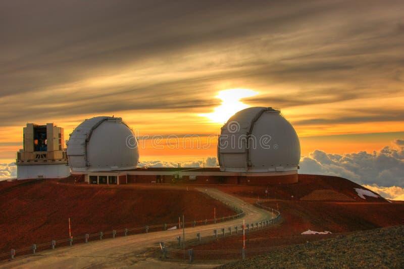 Telescopios imagenes de archivo
