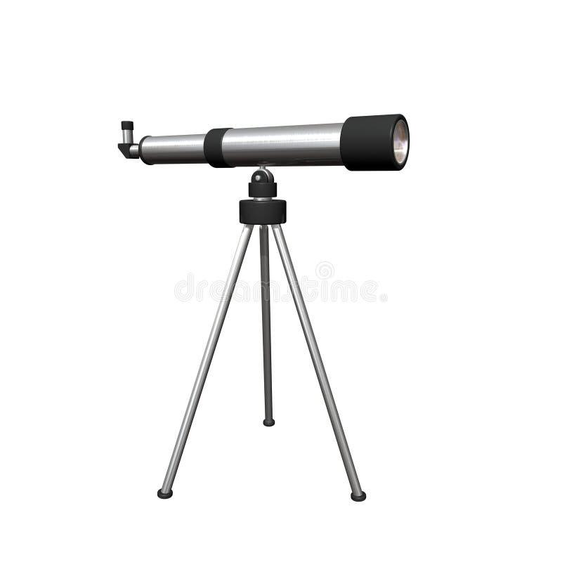 Teleskop lizenzfreie abbildung