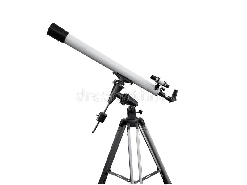 teleskop obraz stock