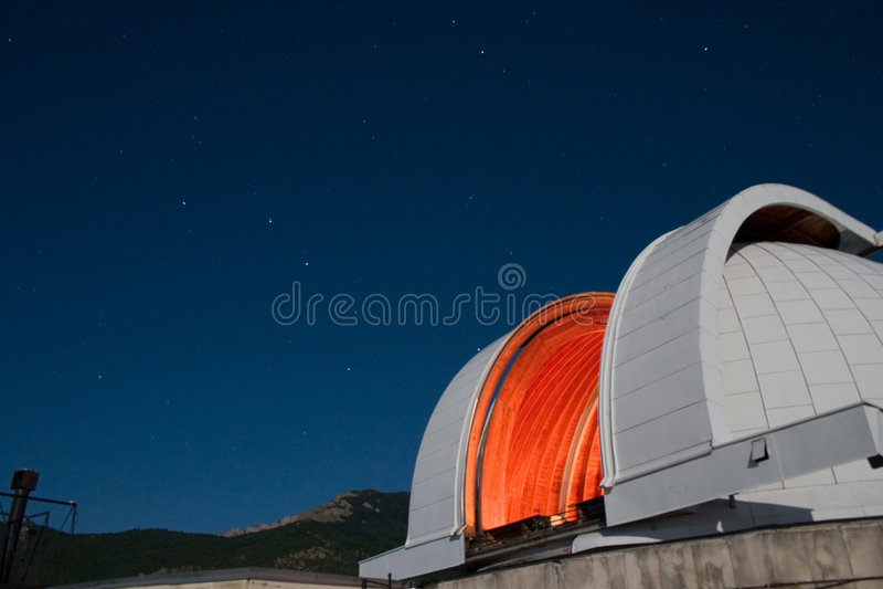 teleskop zdjęcia stock