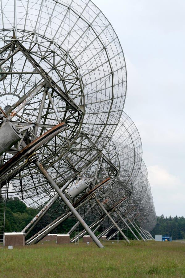 Teleskop för Westerbork syntesradio royaltyfri foto