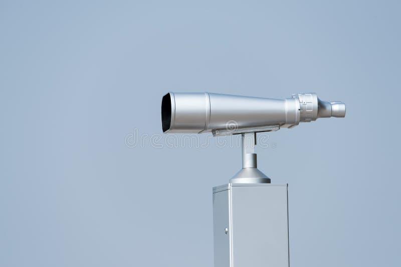 Teleskop für das Schauen der Vögel und der Tiere stockfoto