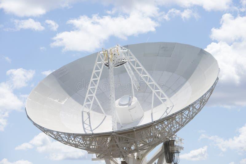 Teleskopteller für astronomische Wissenschaft stockbilder