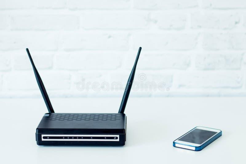 Teletechnicznego wyposażenia router obrazy stock