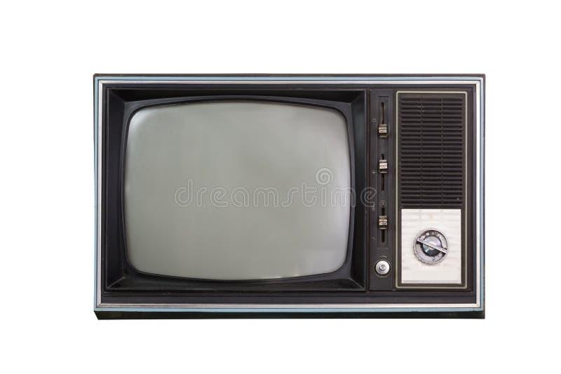 Televisão do vintage foto de stock
