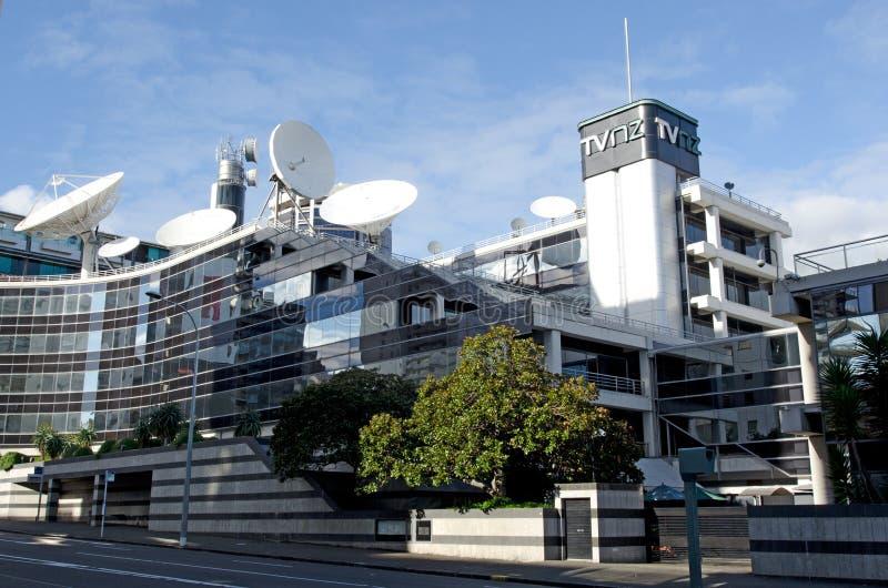 Televisão Nova Zelândia imagens de stock