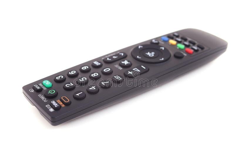 Televisão por cabo infravermelha de controle remoto imagens de stock