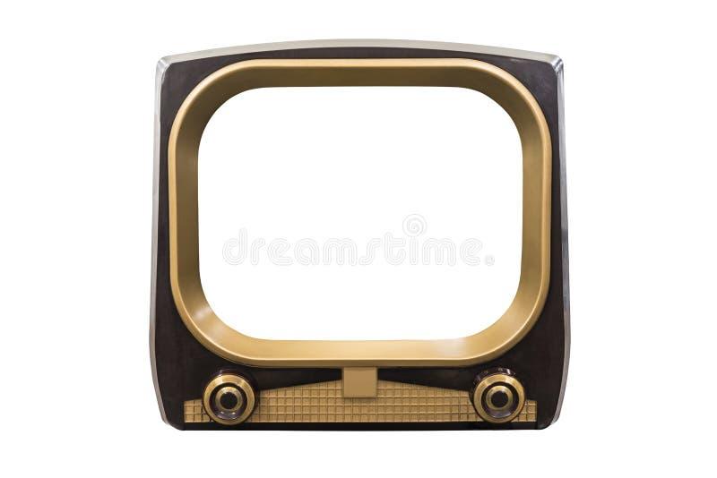 Televisão retro do vintage ilustração stock