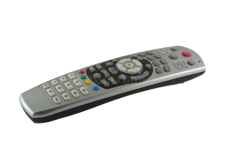 Televisão satélite de controle remoto imagem de stock royalty free