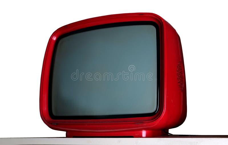 Televisão velha foto de stock
