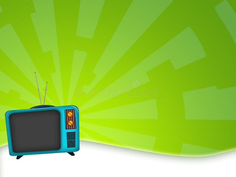Televisão velha ilustração stock
