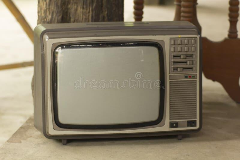 Televisão velha, clássico da tevê ilustração royalty free