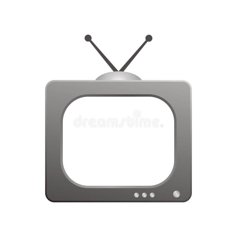 Televisión stock de ilustración