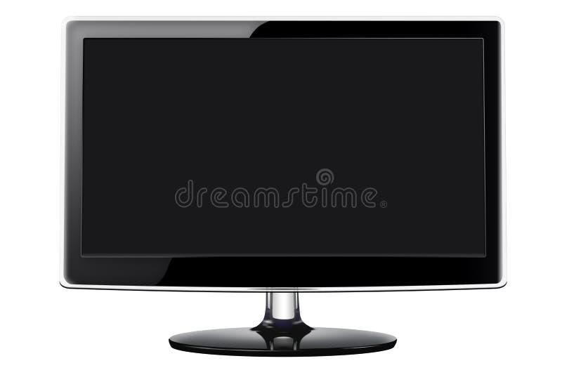 Televisión de la pantalla plana imágenes de archivo libres de regalías