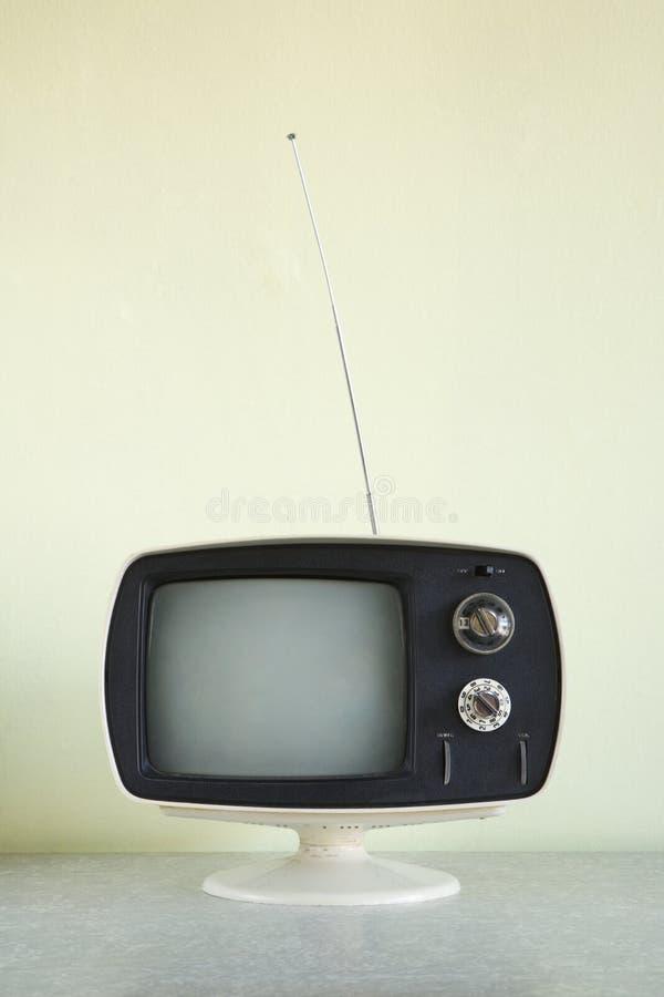 Televisión de la vendimia. imagen de archivo libre de regalías