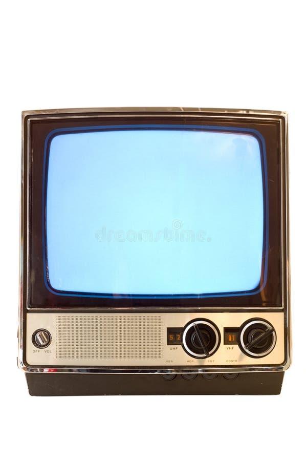 Televisión de la vendimia imagen de archivo libre de regalías
