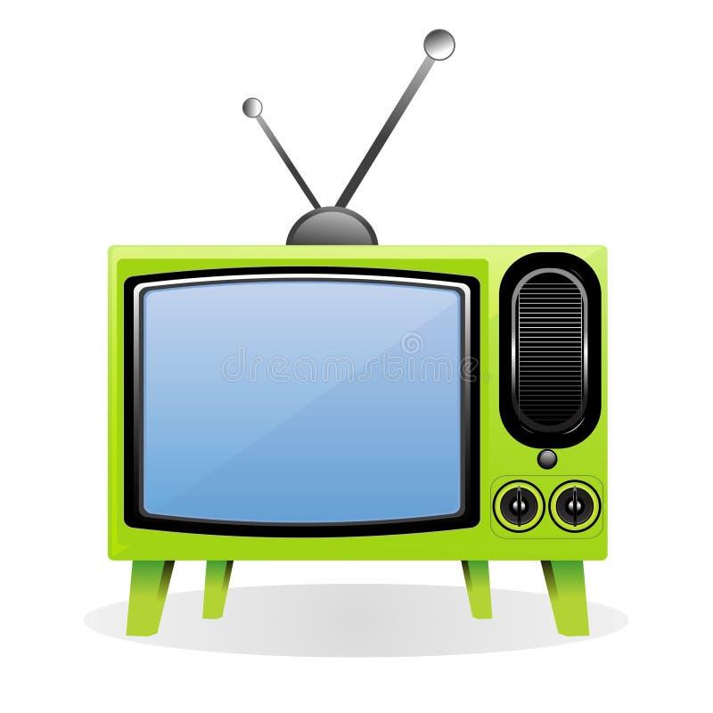 Televisión del vector ilustración del vector