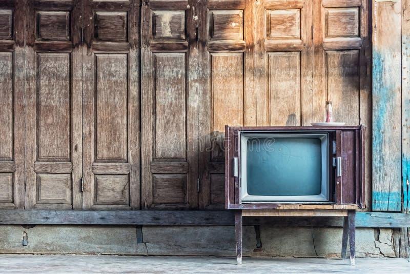 Televisión del vintage imagen de archivo libre de regalías