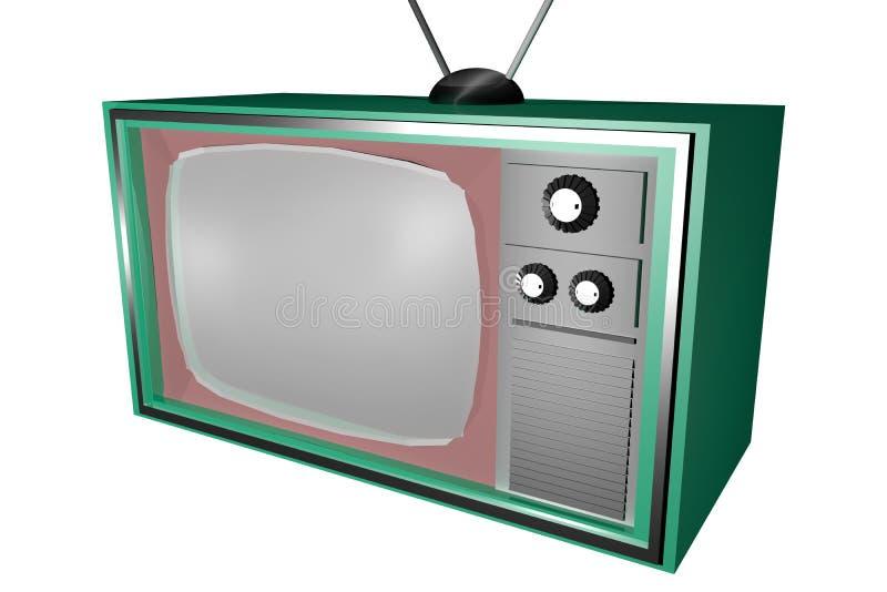 Televisión vieja imagen de archivo libre de regalías