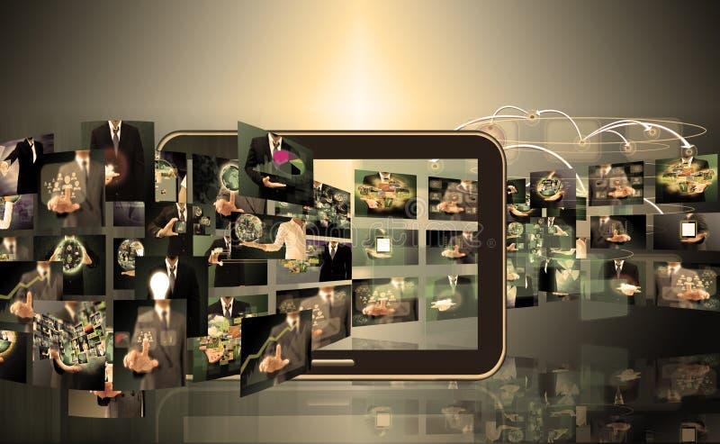 Televisie en Internet-productie royalty-vrije stock foto's